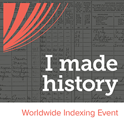 Worldwide Indexing Event
