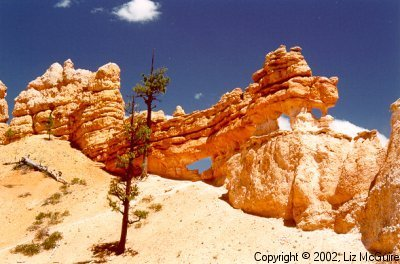 Rock Formation near Bryce Canyon National Park